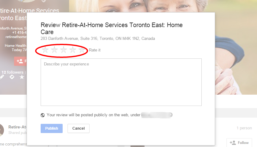 Retire At Home Services Toronto East Home Care Google plus